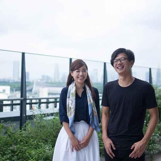 Cift 藤代健介さん(左) 石山アンジュさん(右)