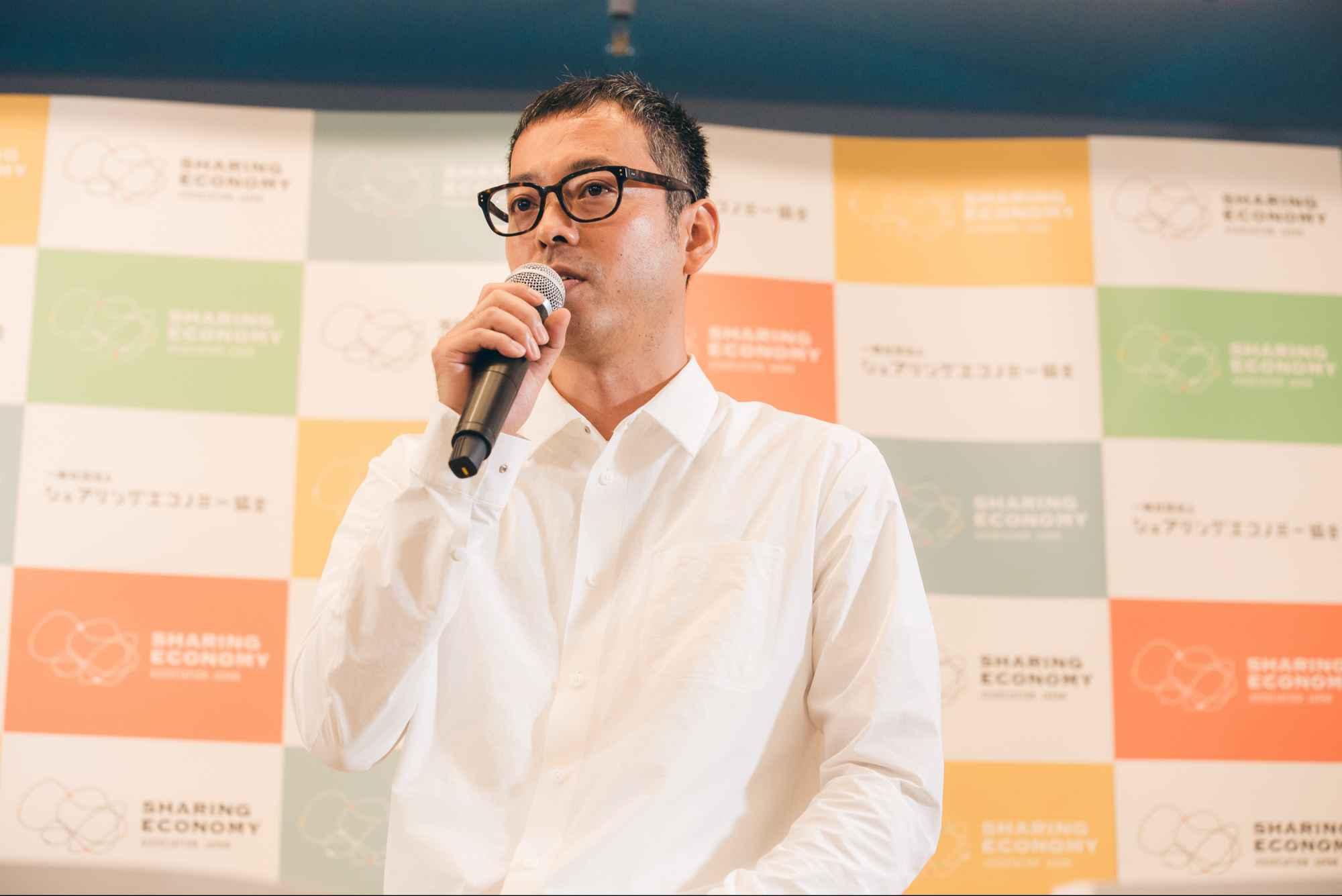 シェアリングエコノミー協会事務局長 佐別当隆志氏